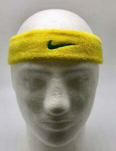 bandeau tennis nike jaune