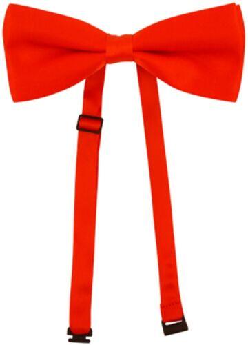 Adulte Homme Femme Unisexe Rouge Nœud papillon Bow Tie Saw Puppet cravate NOUVEAU H