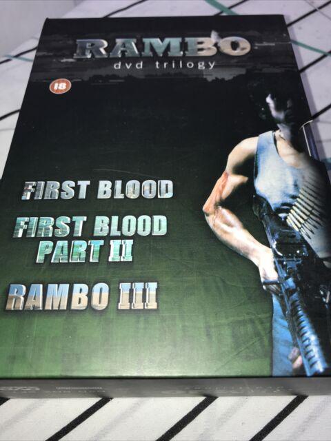Rambo Trilogy (DVD, 2008, 3-Disc Set)