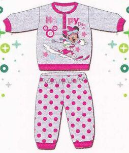 adf953e48948 Pajamas Child Long sleeves warm cotton INTERLOCK DISNEY baby