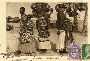 Carte-ZAMBIE-ZAMBEZE-Femmes-Ma-Rotse-Timbres-et-cachet