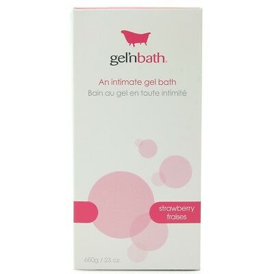 Bathe W/ 1000's Of Massage Gel Beads Relieving Rheumatism Gel'n Bath 600g/21oz In Strawberry Fantasy, Fetish & Accessories