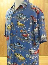 Corvette Hawaiian Shirt, 100% Rayon, Tag Size: Men's M