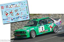 Decal 1:43 Jose Maria Ponce - BMW M3 - Rally Isla de Gran Canaria 2009