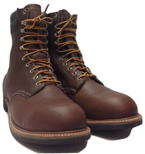 VINTAGE RED WING STEEL TOE WORK BOOTS