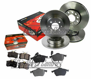 FOR-AUDI-A6-FRONT-REAR-BRAKE-DISC-DISCS-BRAKE-amp-PADS-FRONT-288mm-REAR-245mm