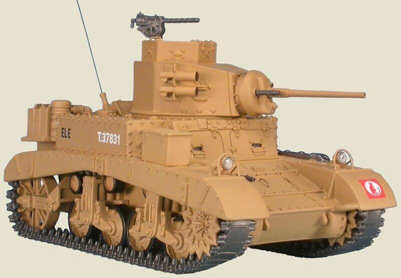 MASTER FIGHTER 1/48 TANK US M3 STUART / HONEY Lybie 1941 7 th Tobrouk ref48562UK