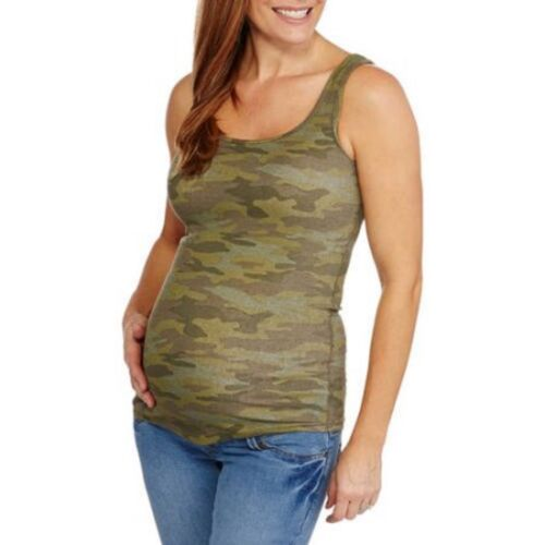 Faded Glory Maternity Ribbed Tank Top  Size XL 16//18