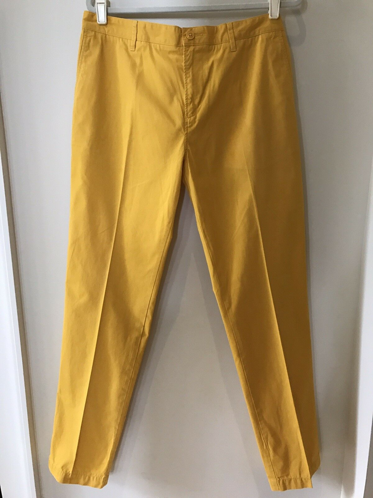 Lacoste Mustard Yellow Regular Fit Pants