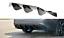 Cup Diffusor Ansatz SCHWARZ für Alfa Romeo Giulia Veloce Heckansatz Heck ABS
