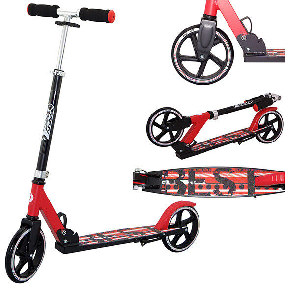 Best Sporting Cityscooter 205 schwarz/rot 30406 Roller City Scooter
