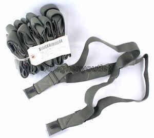 e0e8397feab QTY (10) NEW USGI MILITARY M1950 Foliage Trouser PANT SUSPENDERS ...