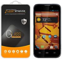 2x Supershieldz Tempered Glass Screen Protector For Zte Boost Warp 4g N9510