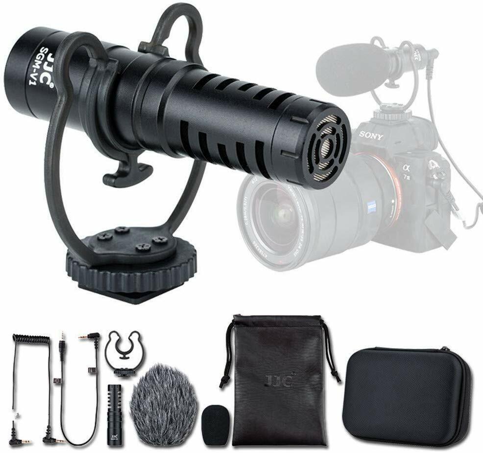 Camera Cardioid Microphone for OLYMPUS OM-D E-M1 MARK III II Mirrorless Camera
