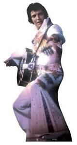 Elvis-Presley-Blanco-Mono-Tamano-Natural-Figura-de-Carton