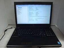Dell Precision M4800 i7-4700MQ @ 2.4GHz 24GB 750GB With Webcam (No O/S or P/S)
