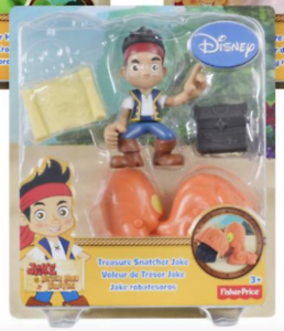 FISHER PRICE//DISNEY JAKE /& THE NEVERLAND PIRATES CHARACTERS Trésor SNATCHER