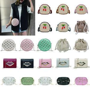 Shoulder-Bag-Messenger-Handbags-Women-Ladies-Girls-Straw-Crossbody-Totes-Purse