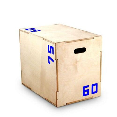 BOX PLIOMETRICO in legno Plyometric Plyometrico Bodybuilding FUNCTIONAL TRAINING