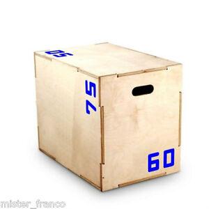 Wooden box pliometrico Plyometric plyometrico Bodybuilding