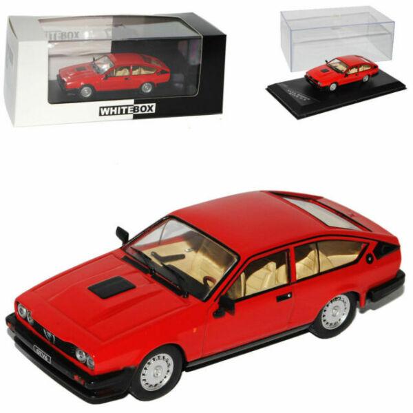 ALFA ROMEO Gtv6 2.5 1980 Red Diecast Modelcar Wb249