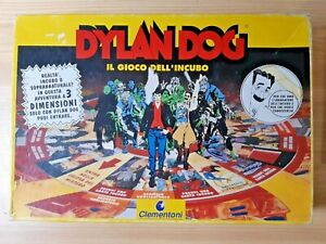 GIOCO-DELL-039-INCUBO-DYLAN-DOG-Vintage-Clementoni-1994