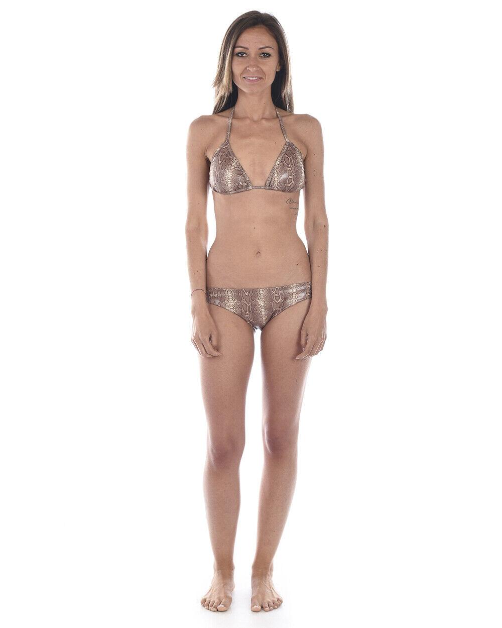 Bikini Biki Branz Bikini Réglable ITALY Femme Marron 439 TL. M_L FAIRE OFFRE