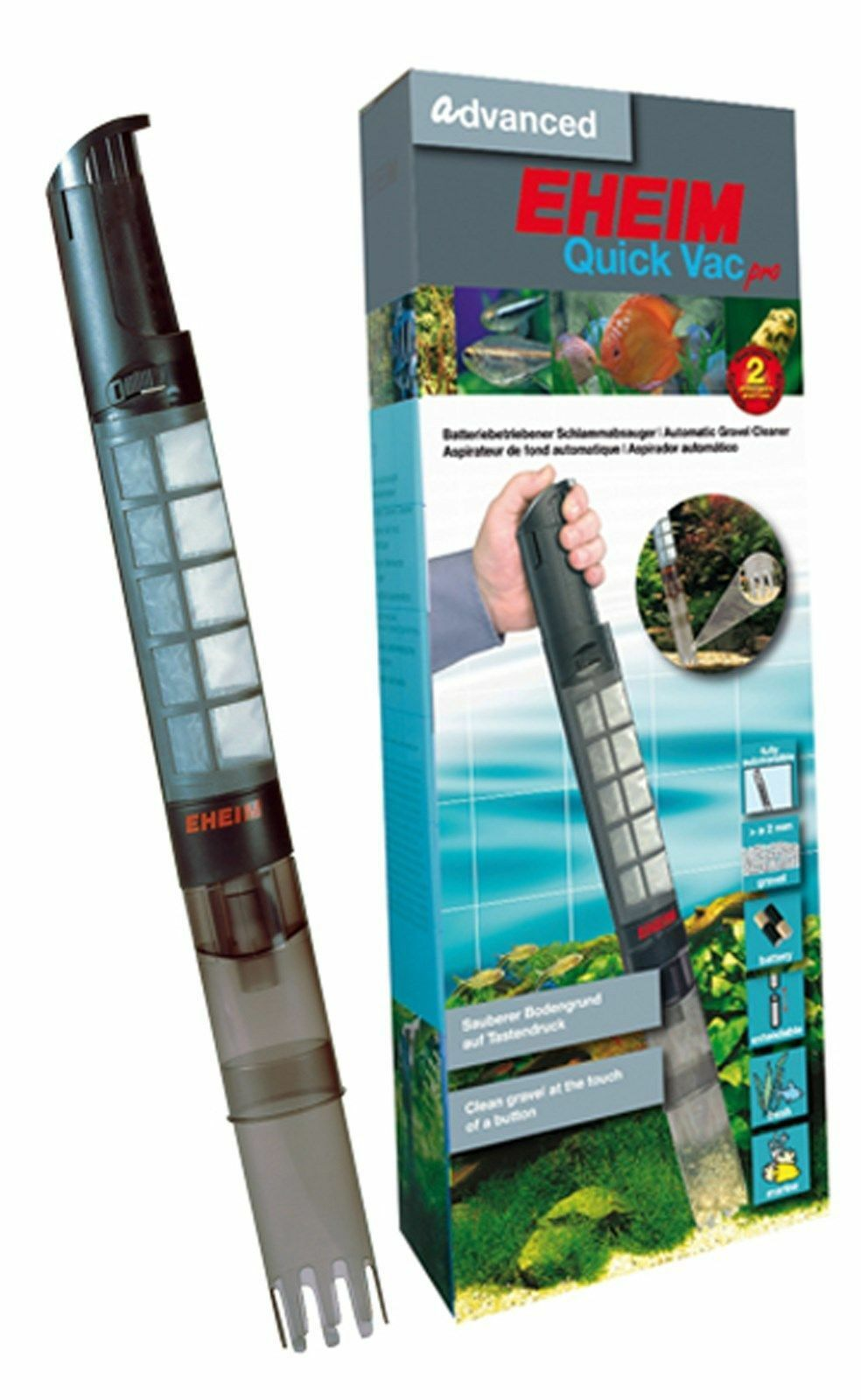 Eheim Quick Vac Pro Battery Aquarium Gravel Cleaner
