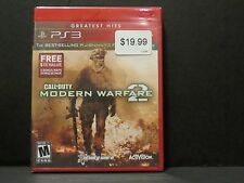 NEW Call of Duty  Modern Warfare 2 Greatest Hits with  Playstation 3 SEALED