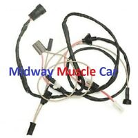 Cowl Induction Hood Wiring Harness 69 Chevy Camaro 1969
