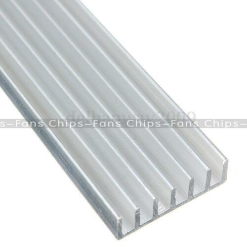 5pcs 150x20x6mm Silver-White LED Heat Sink Aluminum Cooling Fin Heat Sink CF
