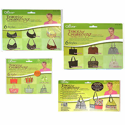 Clover Trace and Create Bag Templates with Nancy Zieman Town and Country Collection