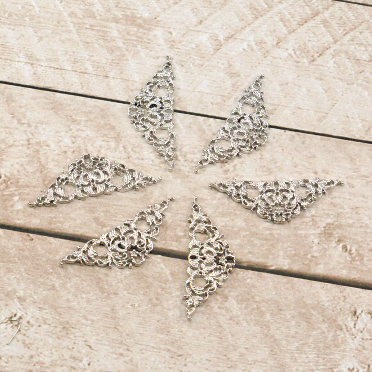 Embellishments Choose from 4 Ultimate Crafts /'BOHEMIAN BOUQUET METAL CHARMS/'