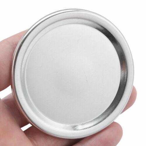 20Pcs Regular//Wide Mouth Mason Jar Split-Type Lids Sealing Storage Solid Caps