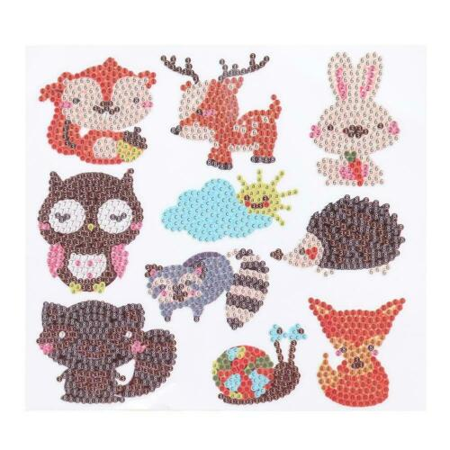 DIY Full Drill Cute Cartoon Animal Diamond Painting Craft Children Day Gift