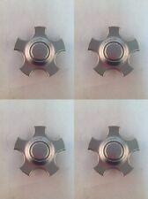 Set 4 Ford Taurus Factory OEM Wheel Center Hub Caps Silver YF12-1A096-AC F4
