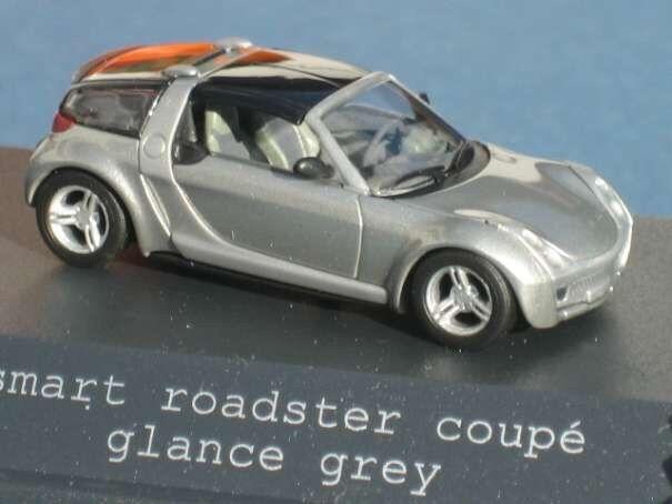 Rare Mercedes Smart Roadster Coupé C452 Glance Gris 1:87 Busch (concessionnaire modèle)   Avec Une Réputation De Longue Date