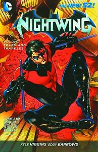 Nightwing-Volume-1-Traps-and-Trapezes-GN-Kyle-Higgins-Dick-Grayson-Batman-New-NM
