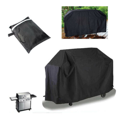 Black Waterproof Patio Furniture Covers for Outdoor Garden Rattan Table//Chiminea