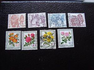 Switzerland-Stamp-Yvert-and-Tellier-N-1038-A-1045-Obl-A2-Switzerland-R