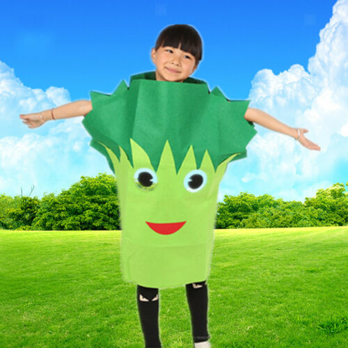 Boys Girls Insects Vegetation Costume Outfit Hat Forest Animal Party Fancy Dress