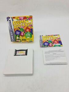 RARE GAME BOY GAMEBOY ADVANCE GBA BOXED BOITE NINTENDO SUPER BUST-A-MOVE  EUR