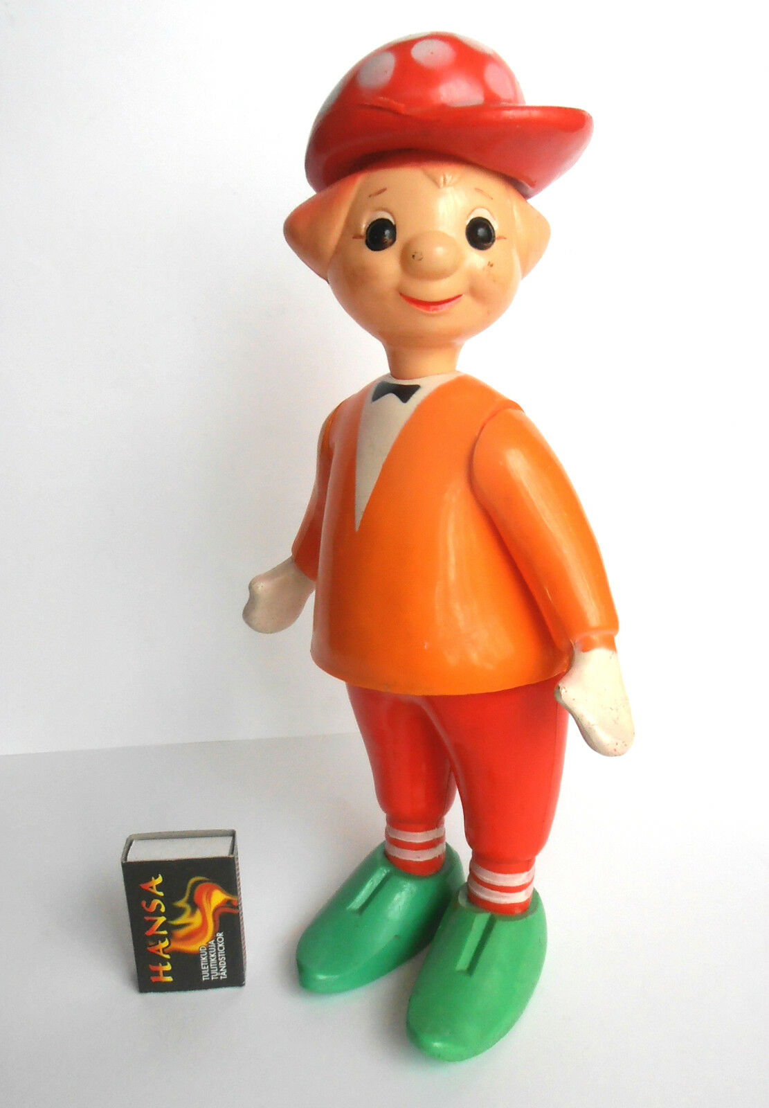1950s USSR Great Russian Clown Circus Actor Early OLEG POPOV Celluloid Doll Rare
