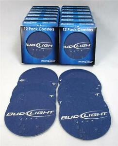 Lot Of 144 Bud Light Bar Coasters Pub Anheuser Busch Pool Wedding Parties B-24