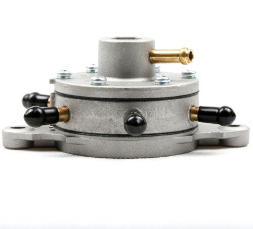 New Round Fuel Pump fits Snowmobile Replaces Mikuni DF52-92 Triple Outlet