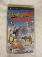 Worms: Open Warfare 2 (playstation Portable, Psp) Brand New, Sealed
