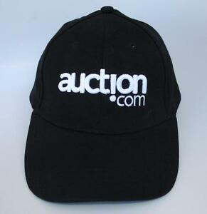 Auction Com Real Estate Auctions One Size Stretch Fit Baseball Cap Hat Black Ebay