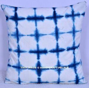 Image Is Loading Handmade White Amp Blue Tie Dye Design Home