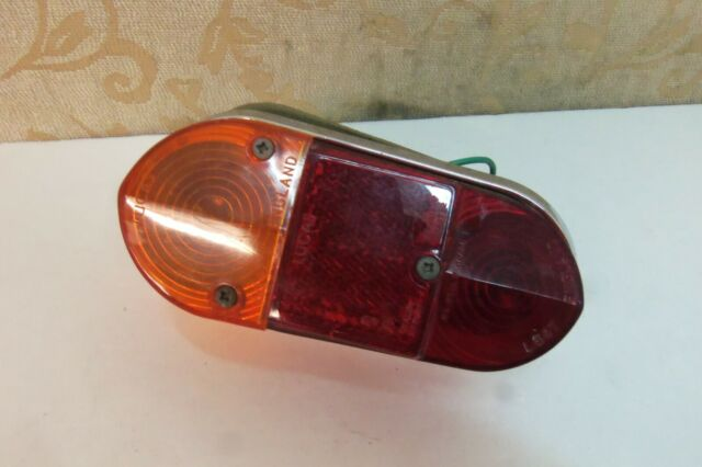 CLASSIC MINI MK2 REAR LAMP LENS R//H 37H4838 O//S AUSTIN MORRIS COOPER ROVER 2D1