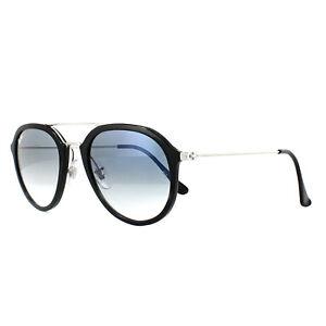0b7ffd26f2 Ray-Ban Sunglasses 4253 62923F Black Silver Light Blue Gradient ...